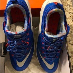 quality design 74325 02e56 Nike Shoes - Lebron 12 limited edition. Blue. Silver. Orange 13